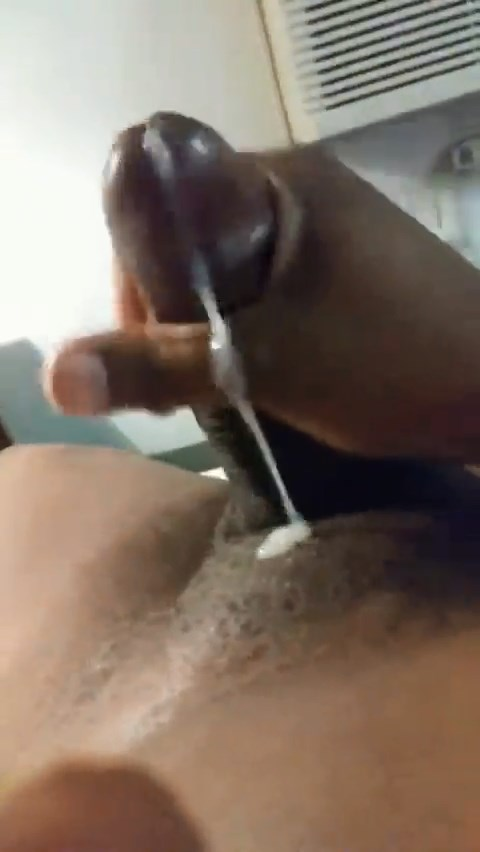 Thick Black Girl Moans to Cum!